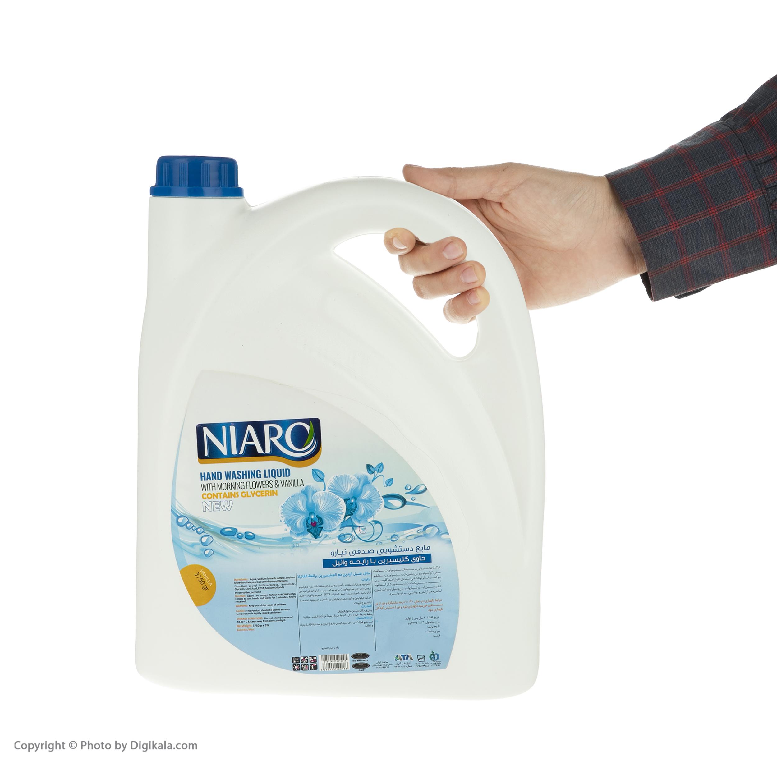 مایع دستشویی نیارو مدل وانیل حجم 3750 گرم main 1 2