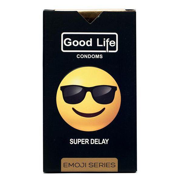 کاندوم گودلایف سری ایموجی مدل Super Delay بسته 6 عددی