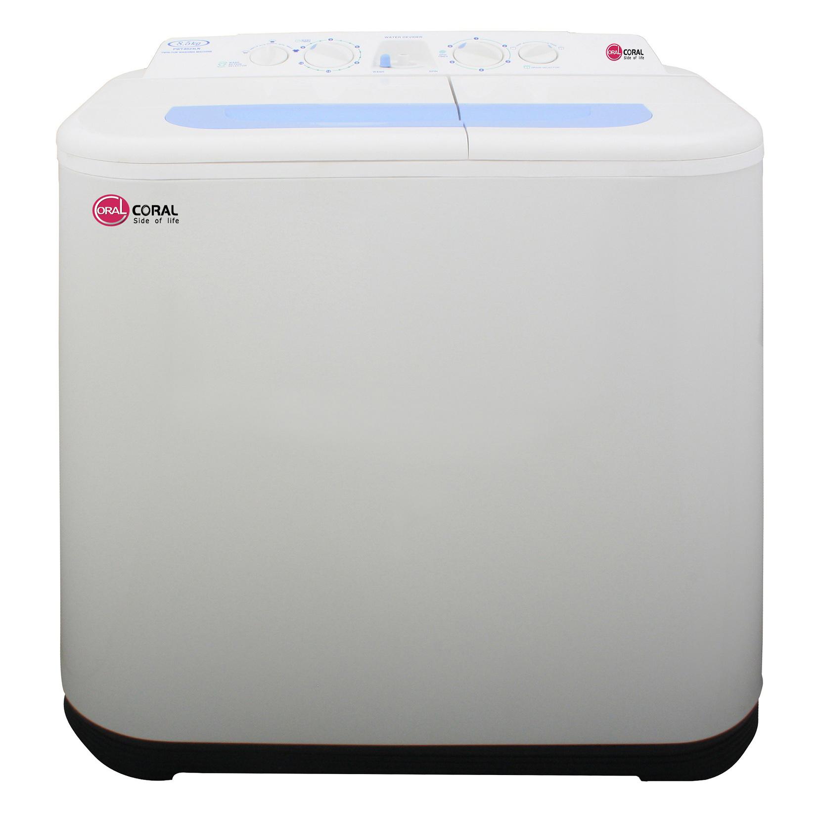 خرید ماشین لباسشویی کرال مدل TTW-85514 ظرفیت 8.5 کیلوگرم