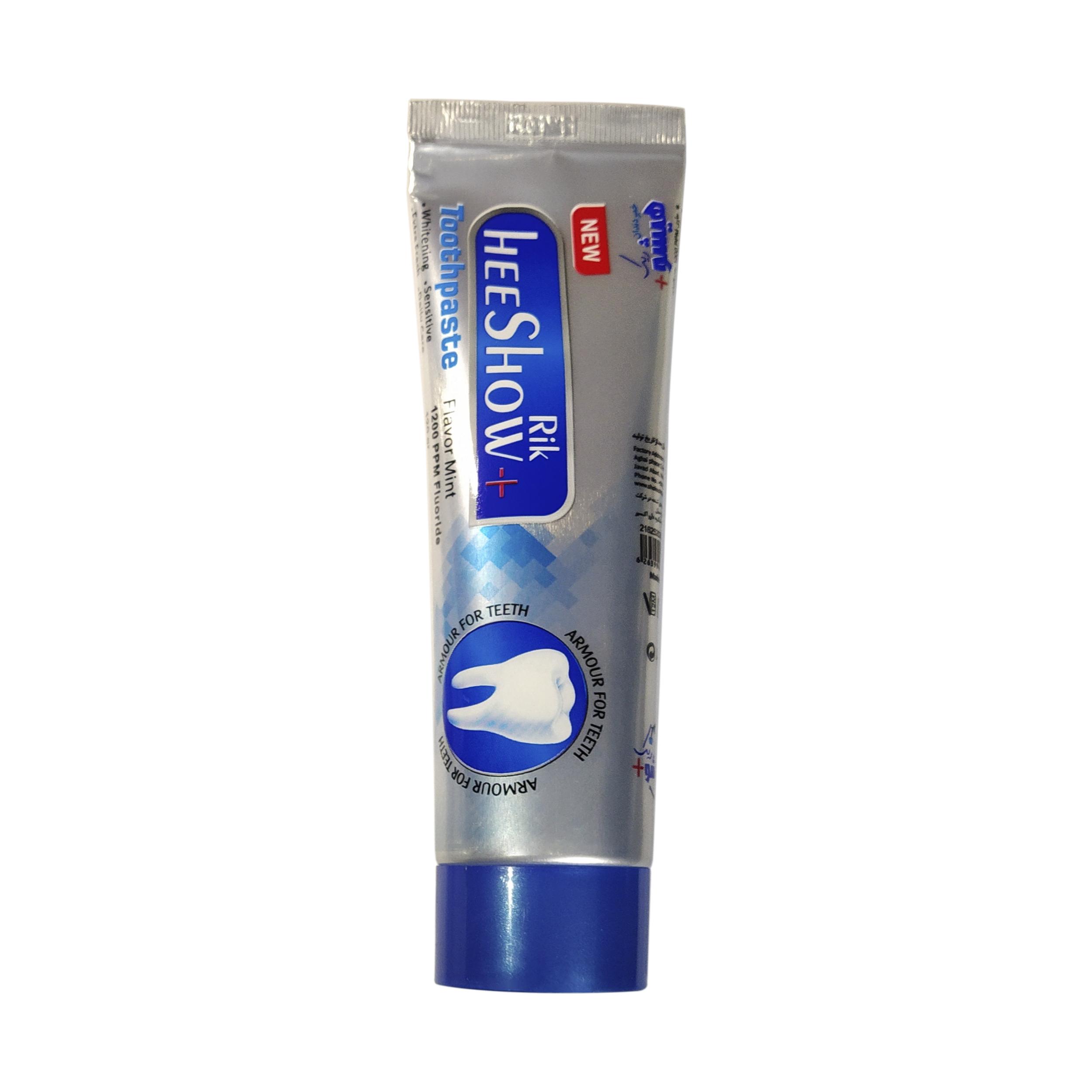 خمیر دندان هیشو ریک مدل Flavor mint وزن  120 گرم