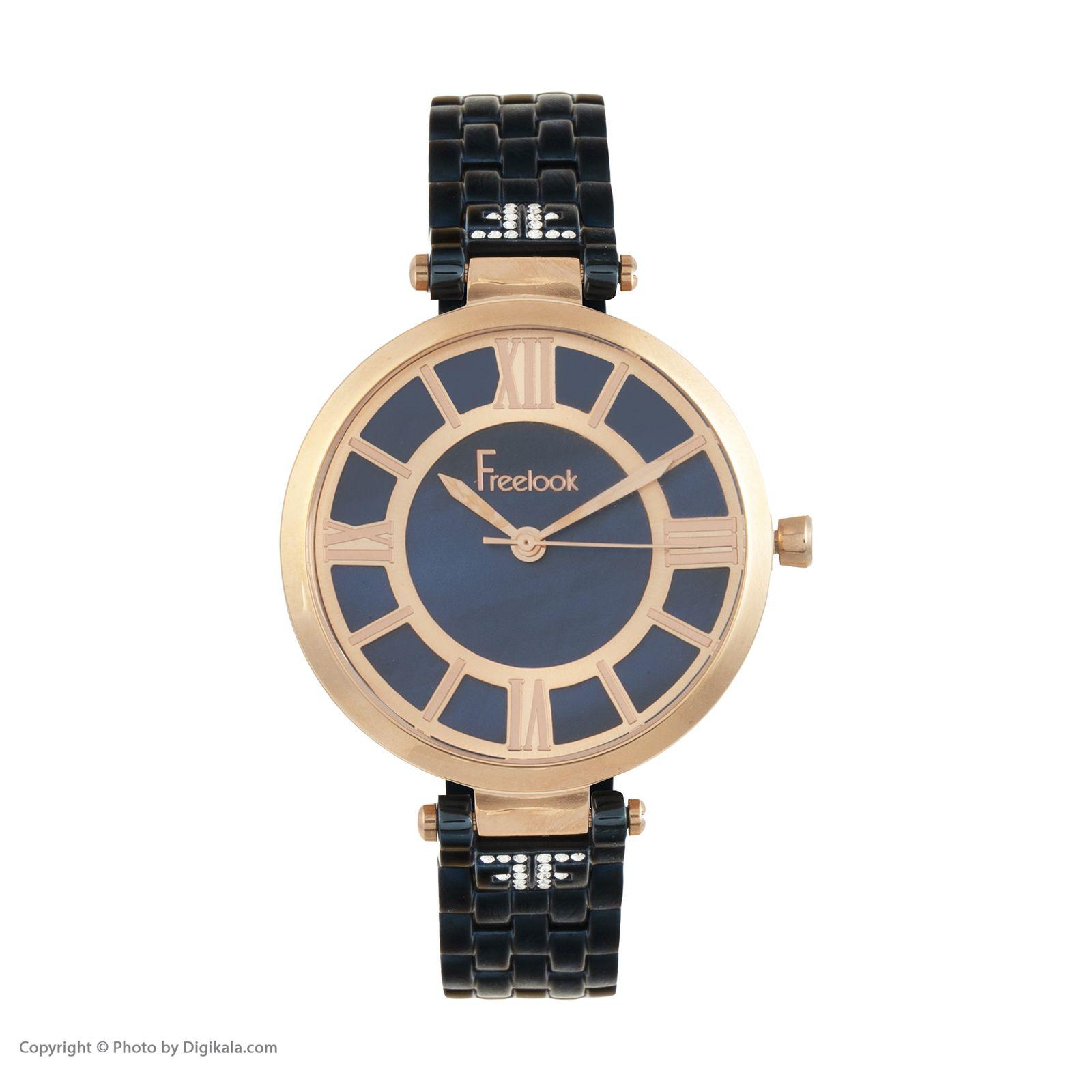 ساعت مچی عقربه ای زنانه فری لوک مدل F.8.1017.04 -  - 4