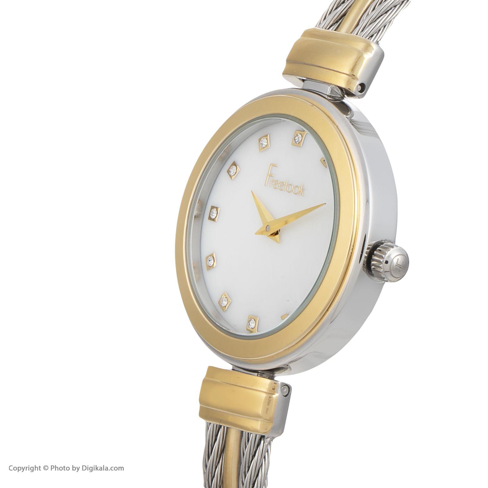 ساعت مچی عقربه ای زنانه فری لوک مدل F.8.1078.07 -  - 2