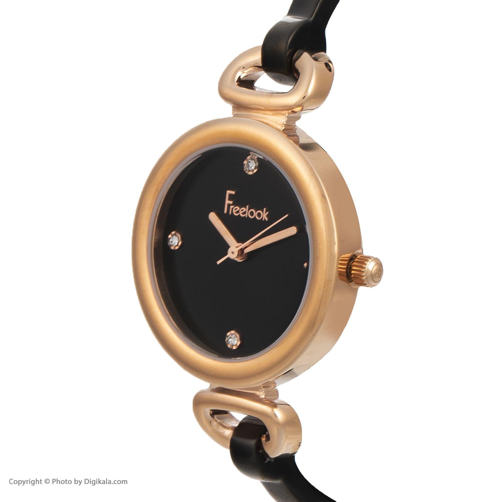 ساعت مچی عقربه ای زنانه فری لوک مدل F.8.1084.03 -  - 2