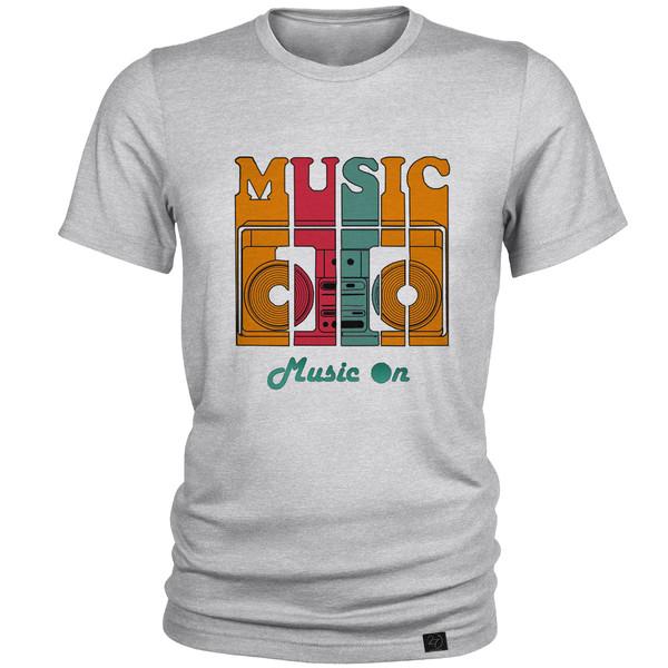 تیشرت مردانه 27 طرح MUSIC کد M139