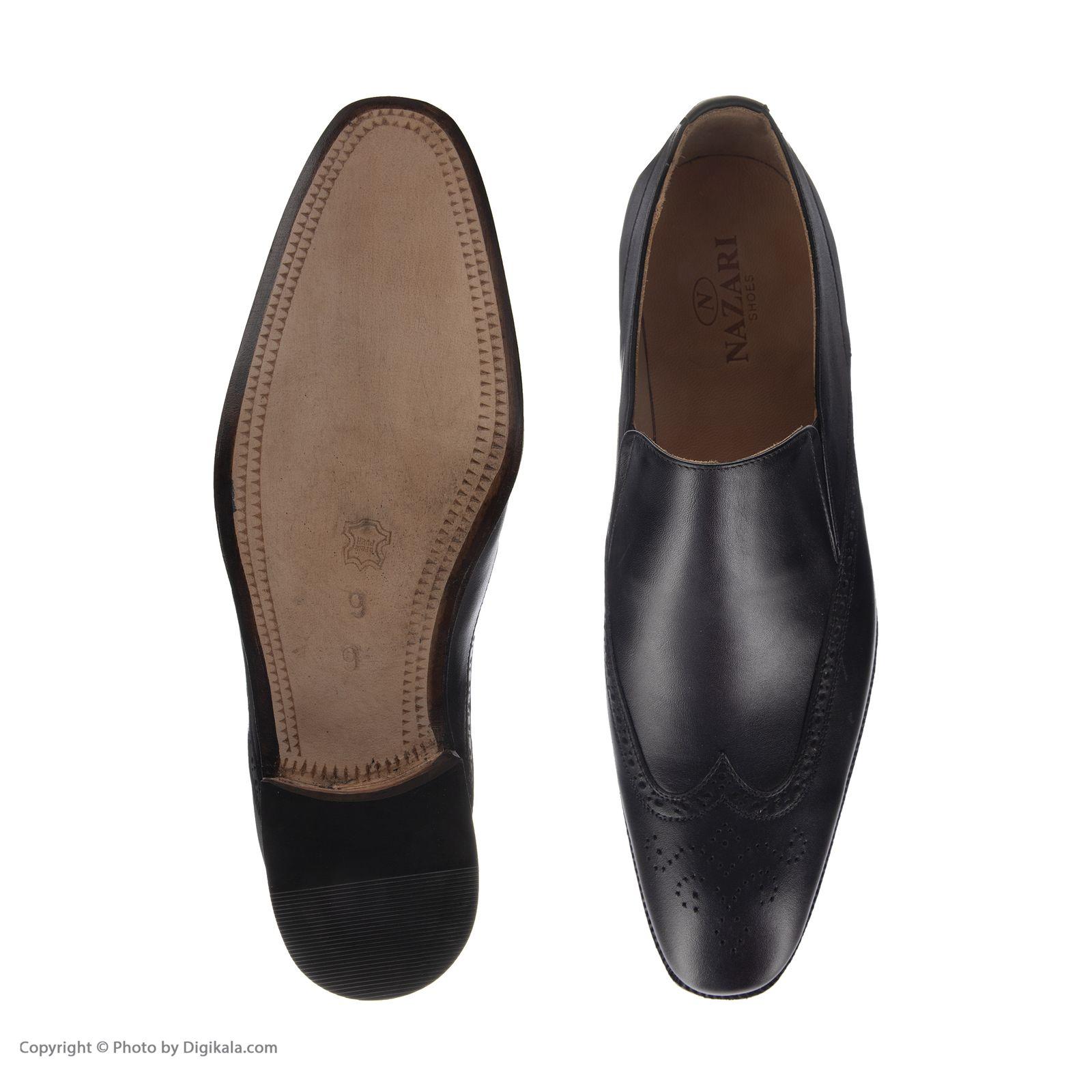 کفش مردانه نظری کد 435 -  - 5