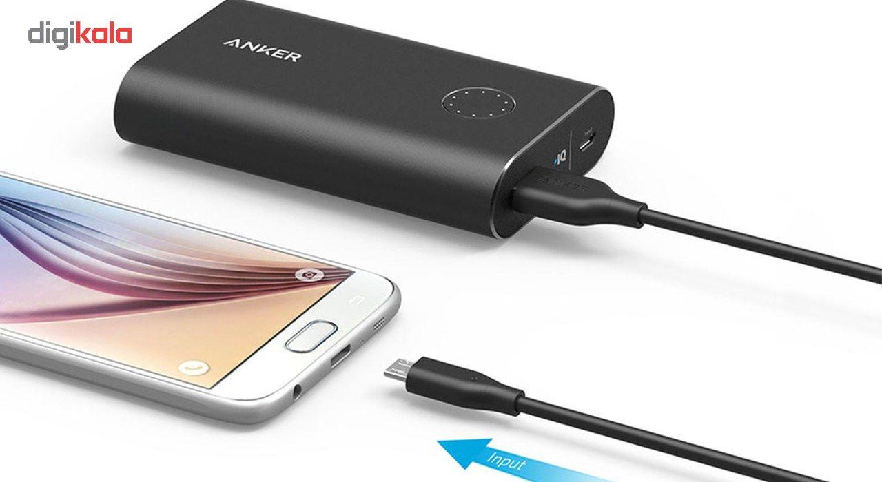 کابل تبدیل USB به microUSB انکر مدل A8133 PowerLine طول 1.8 متر main 1 8