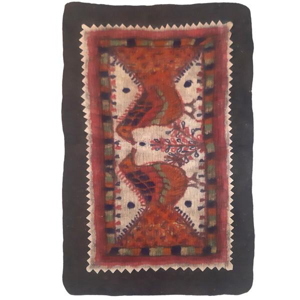 نمد فرش مدل طاووس کد TEB303