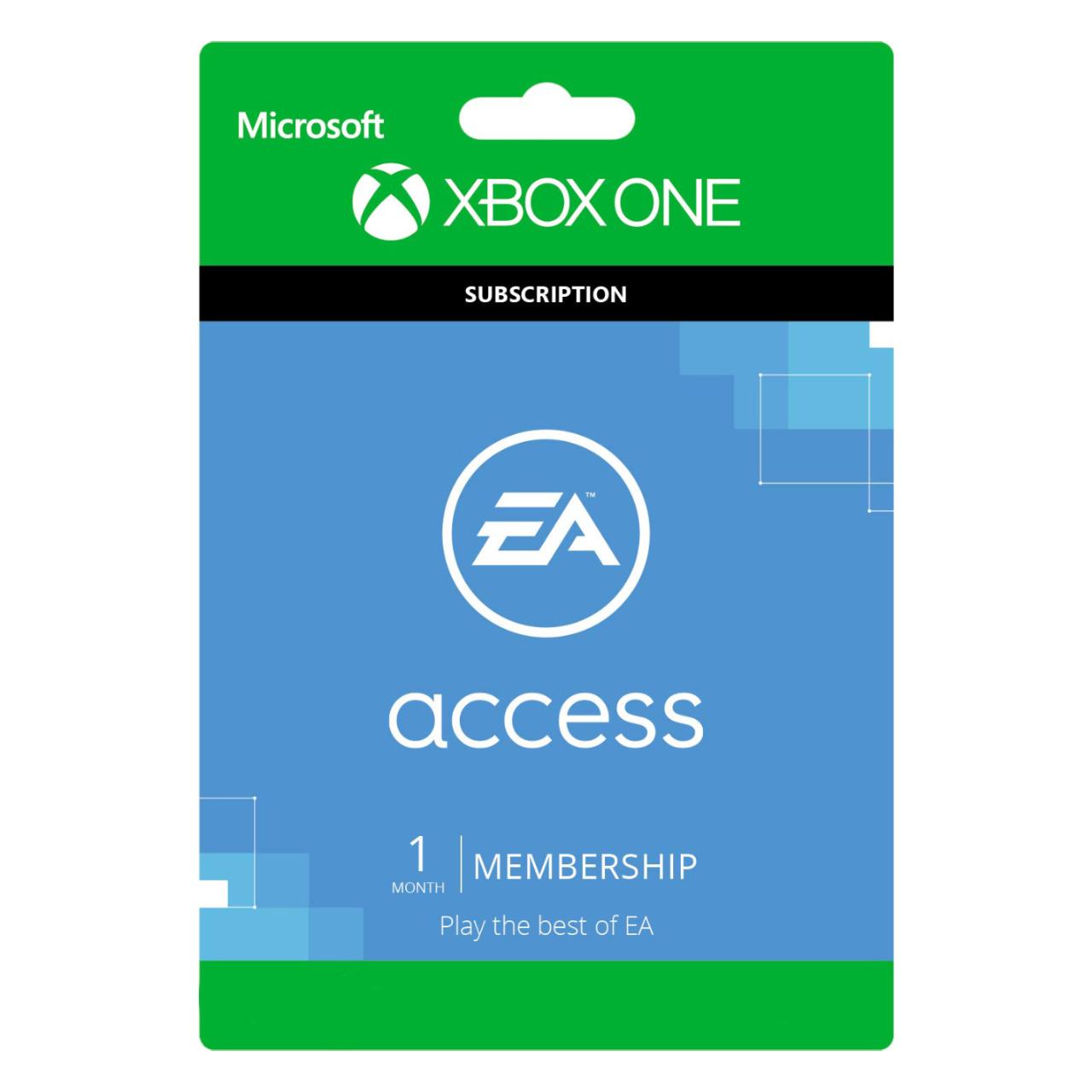 خرید اینترنتی گیفت کارت ۱ ماهه ایکس باکس مدل EA Access اورجینال