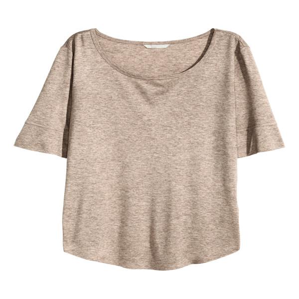 تی شرت زنانه اچ اند ام مدل h1005