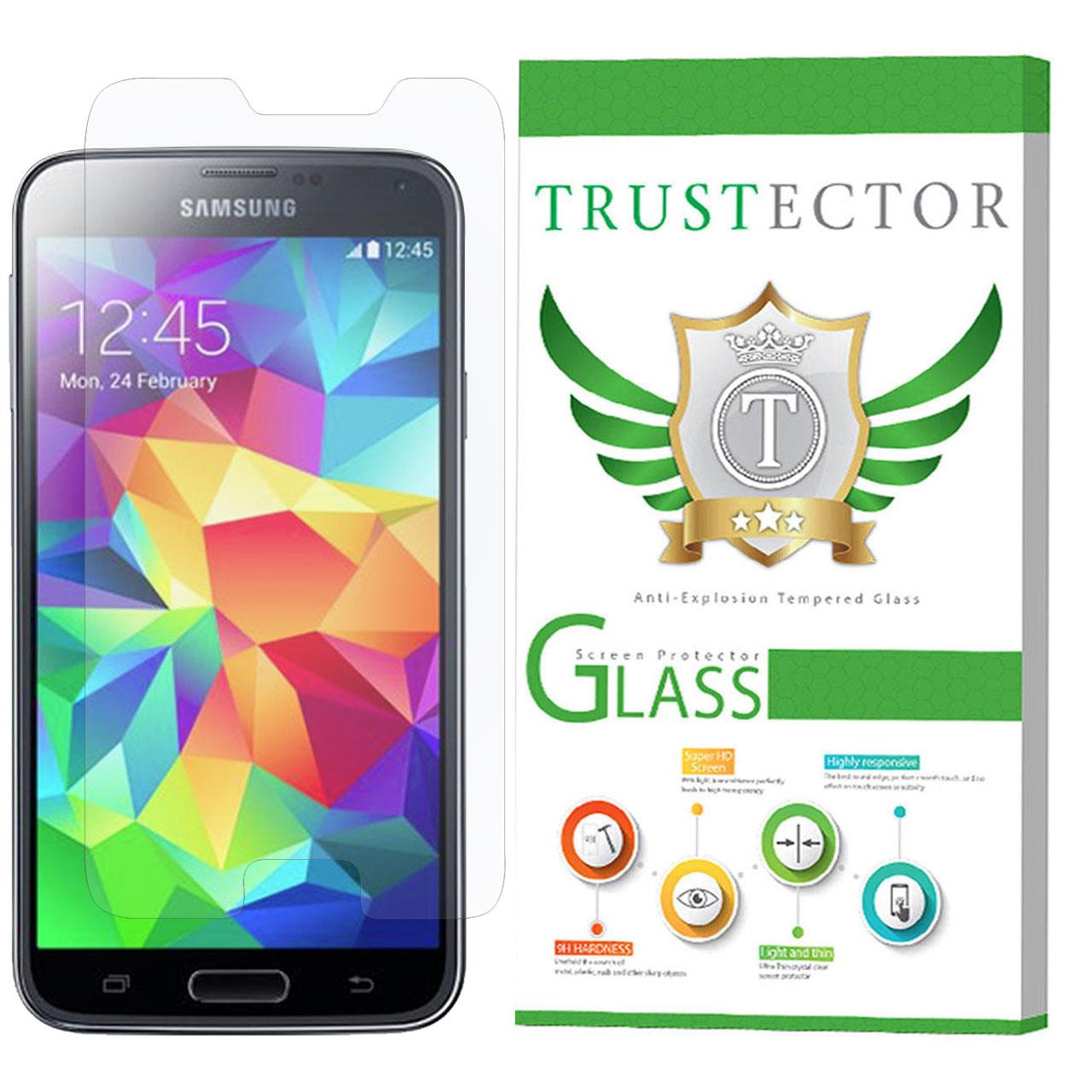 محافظ صفحه نمایش تراستکتور مدل GLS مناسب برای گوشی موبایل سامسونگ Galaxy S5              ( قیمت و خرید)