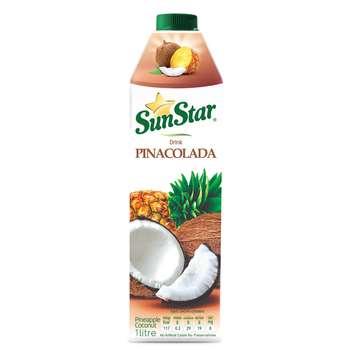 نوشیدنی طبیعی پینا کولادا سان استار حجم 1 لیتر