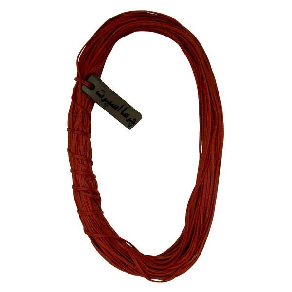 نخ موم دار چرما اسپرت کد 6036 طول 10 متر