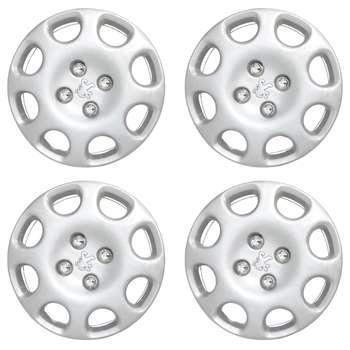 قالپاق چرخ مدل 4500 سایز 14 اینچ مناسب برای پژو 206 بسته 4 عددی