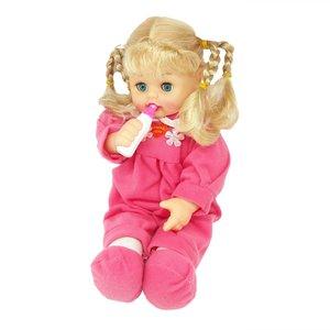 عروسک طرح دختر مو بلند کد07 ارتفاع 20 سانتی متر