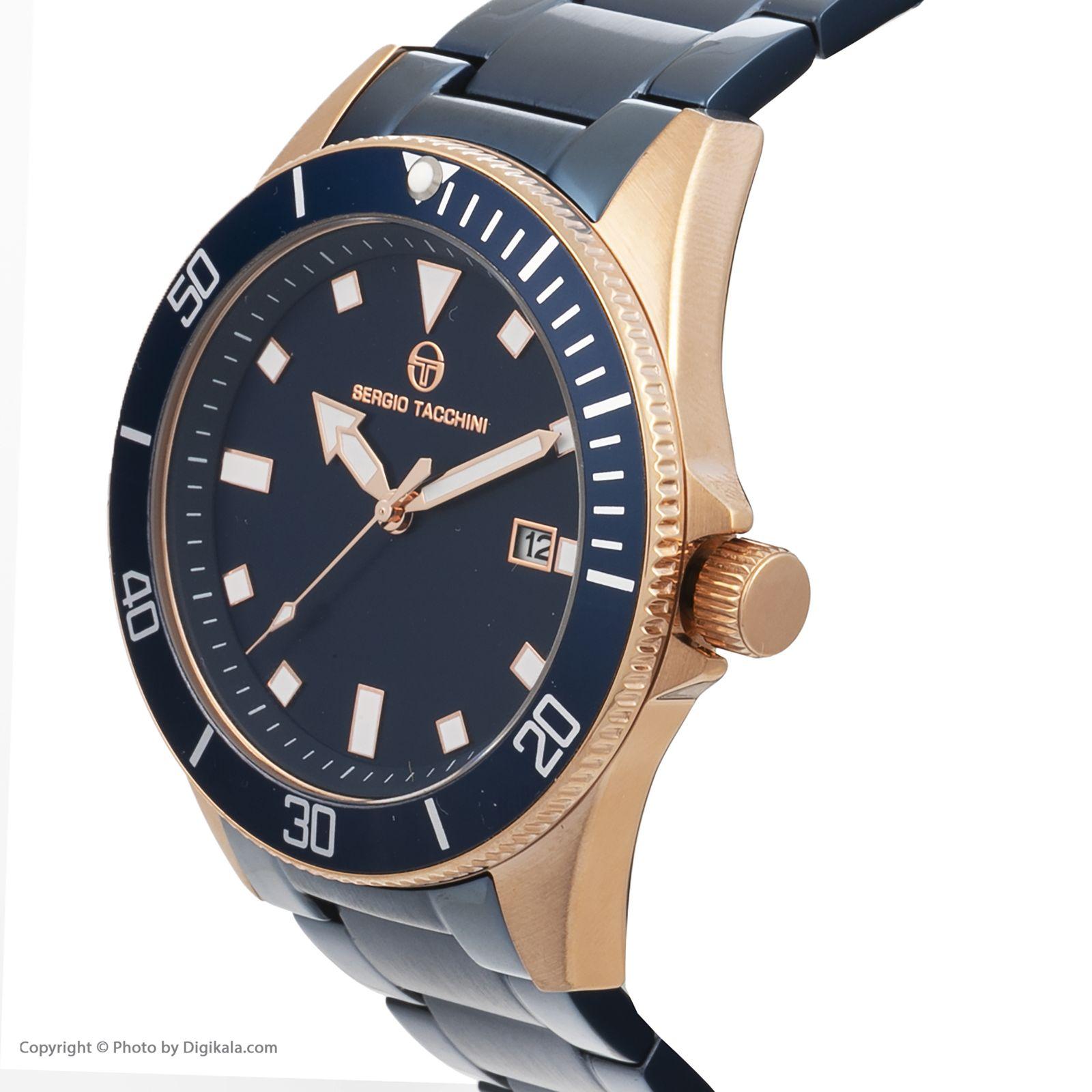 ساعت مچی عقربه ای مردانه سرجیو تاچینی مدل ST.8.132.06 -  - 3