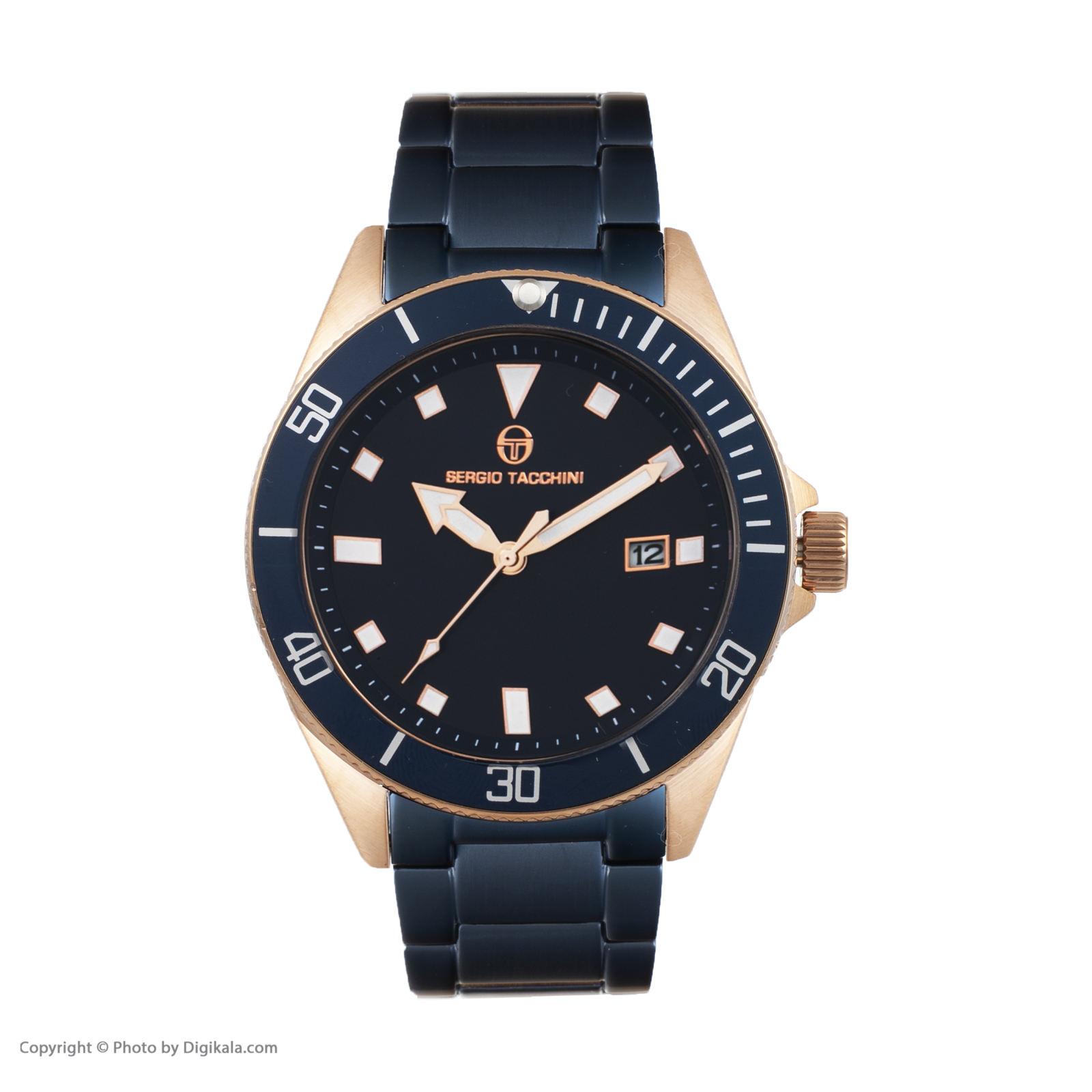 ساعت مچی عقربه ای مردانه سرجیو تاچینی مدل ST.8.132.06 -  - 1