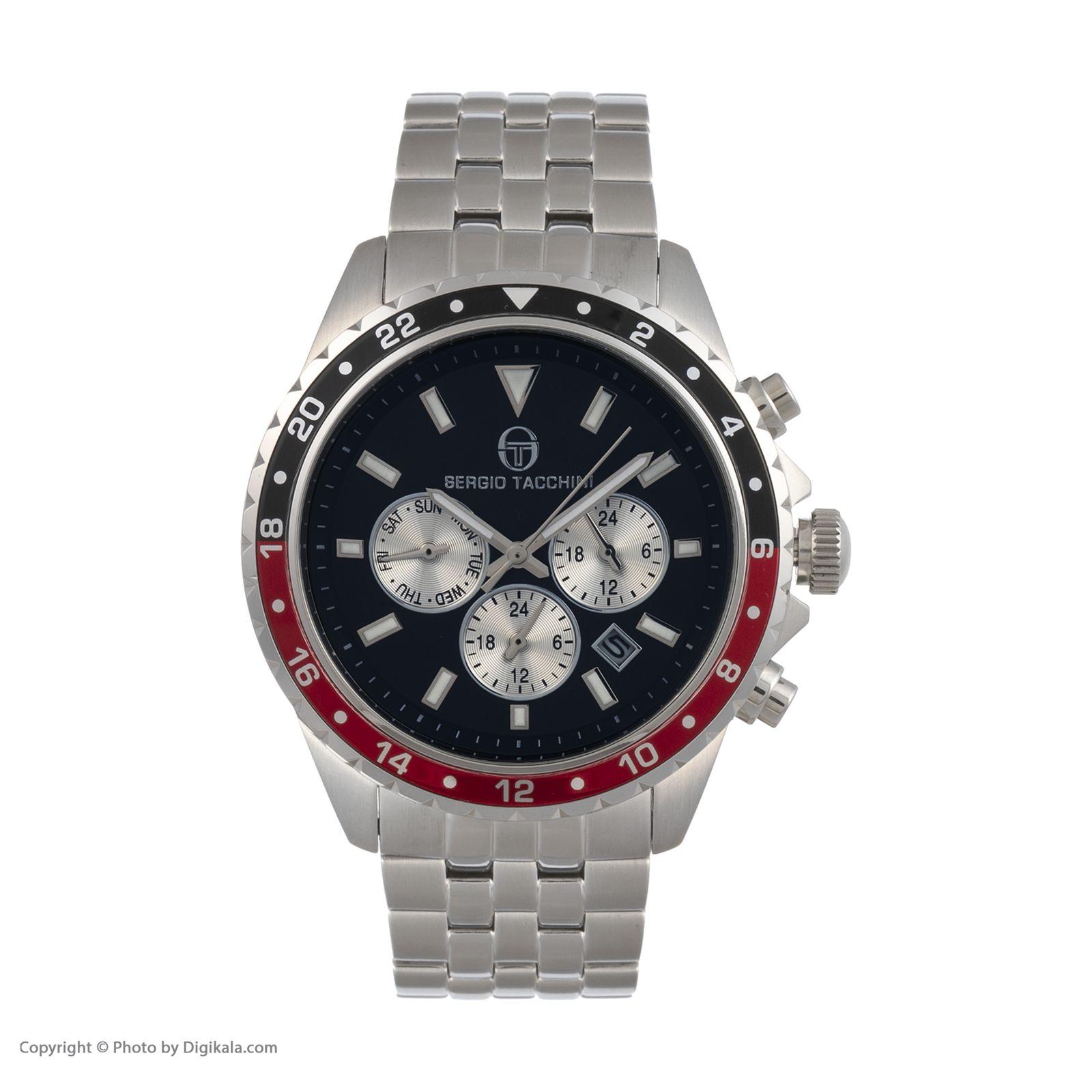 ساعت مچی عقربه ای مردانه سرجیو تاچینی مدل ST.17.102.07 -  - 1