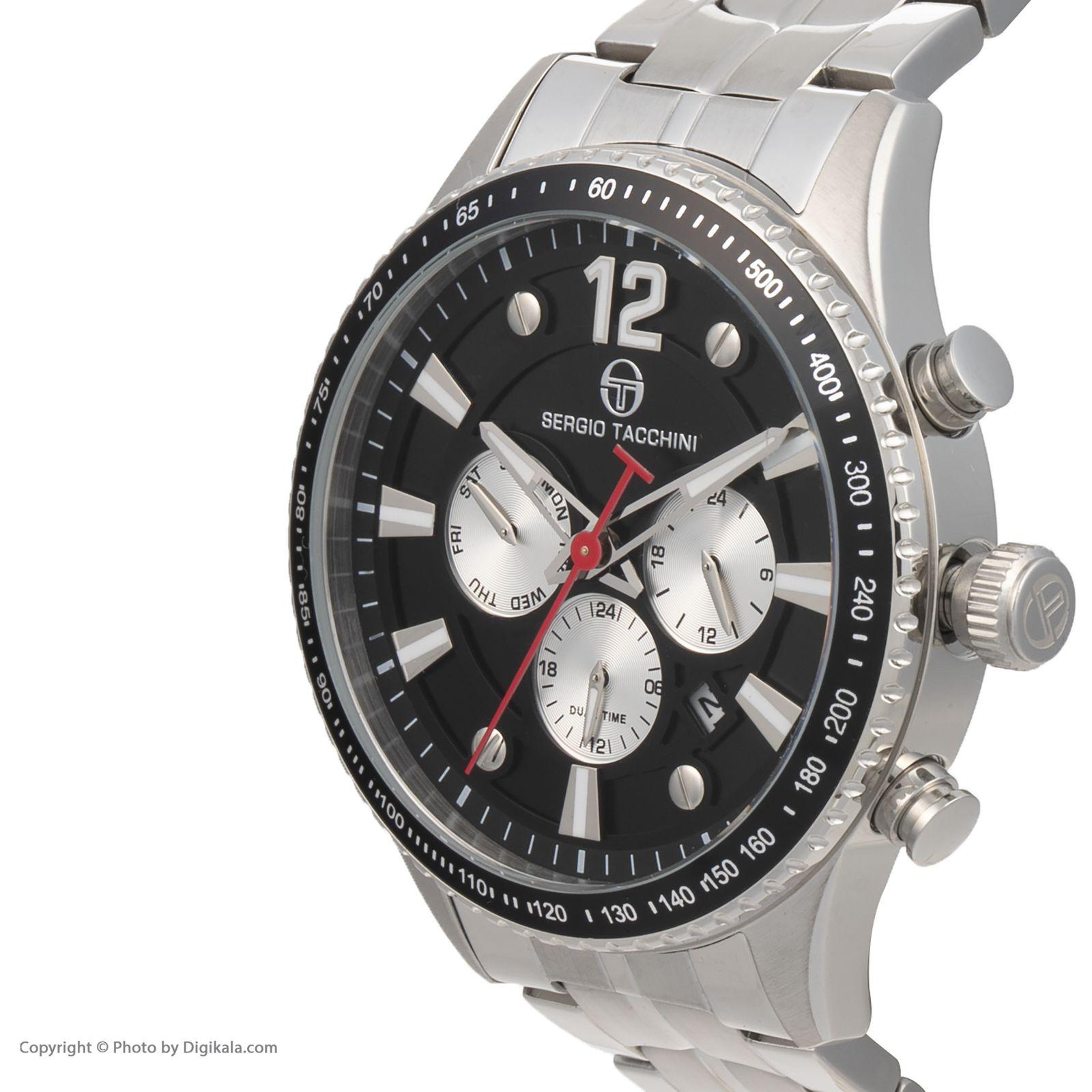 ساعت مچی عقربه ای مردانه سرجیو تاچینی مدل ST.19.102.04 -  - 3