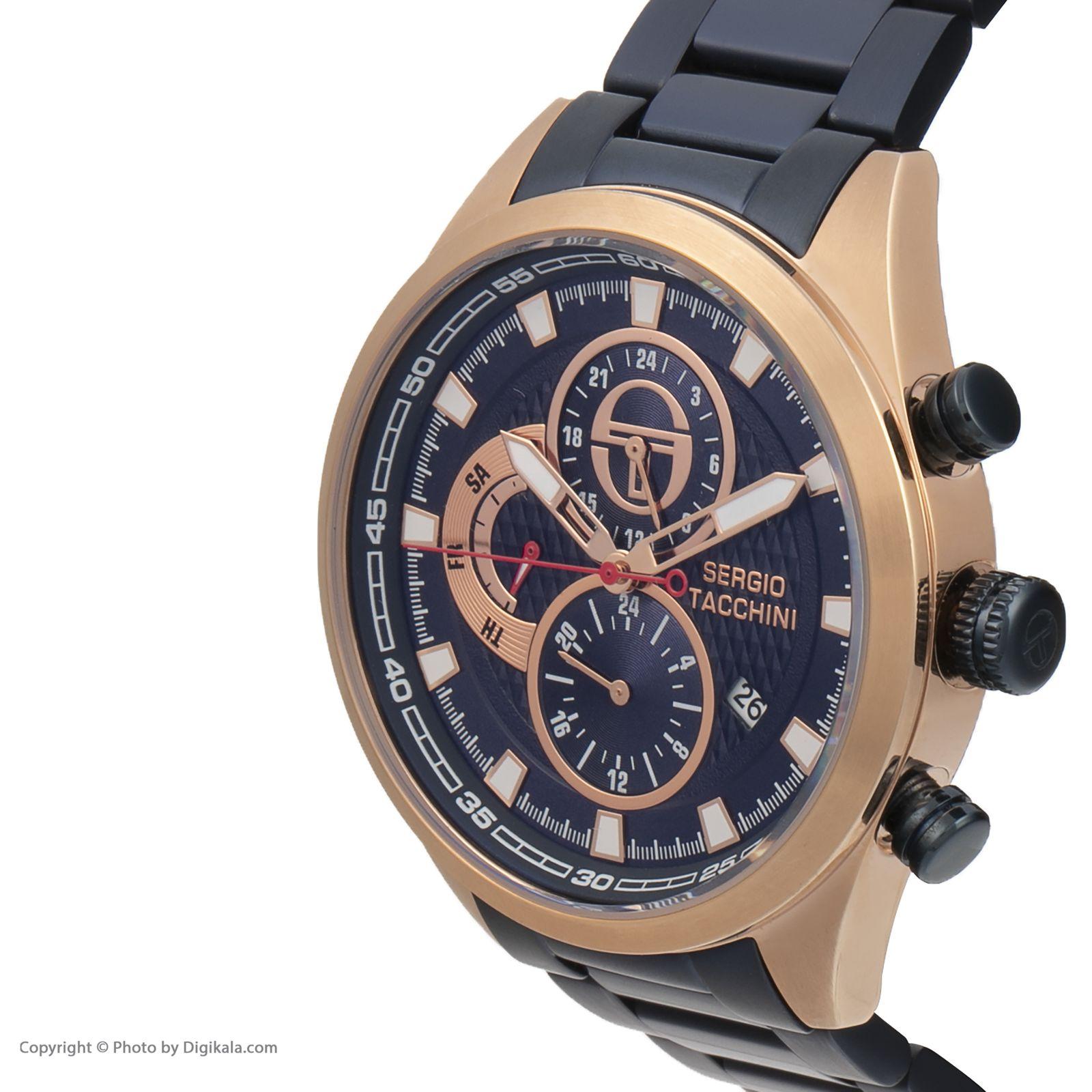 ساعت مچی عقربه ای مردانه سرجیو تاچینی مدل ST.5.154.05 -  - 3