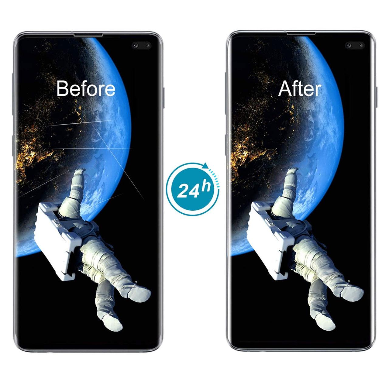 محافظ صفحه نمایش نانو هورس مدل FSN مناسب برای گوشی موبایل سامسونگ Galaxy S10 Plus main 1 5