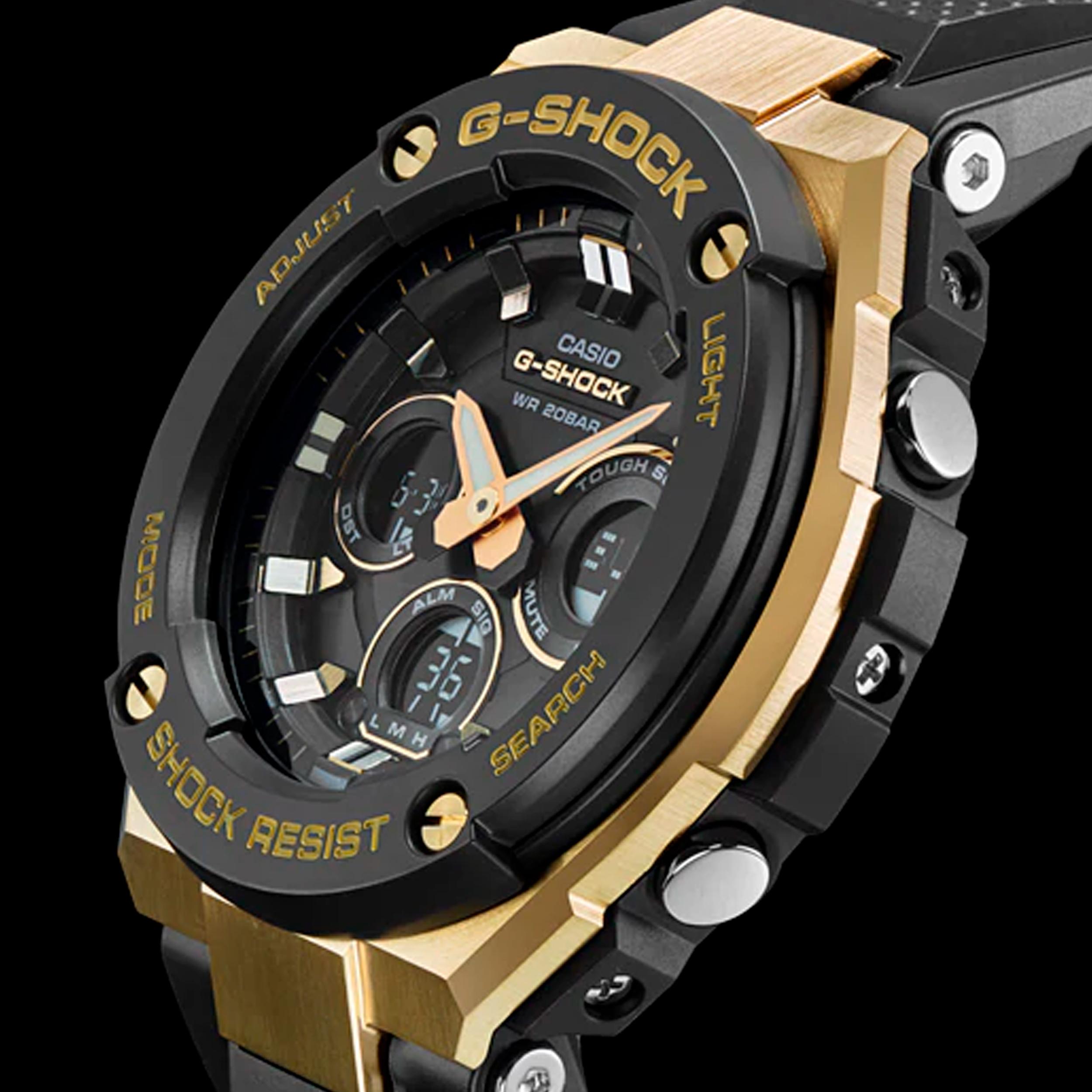 ساعت مچی عقربه ای مردانه کاسیو مدل GST-S300G-1A9