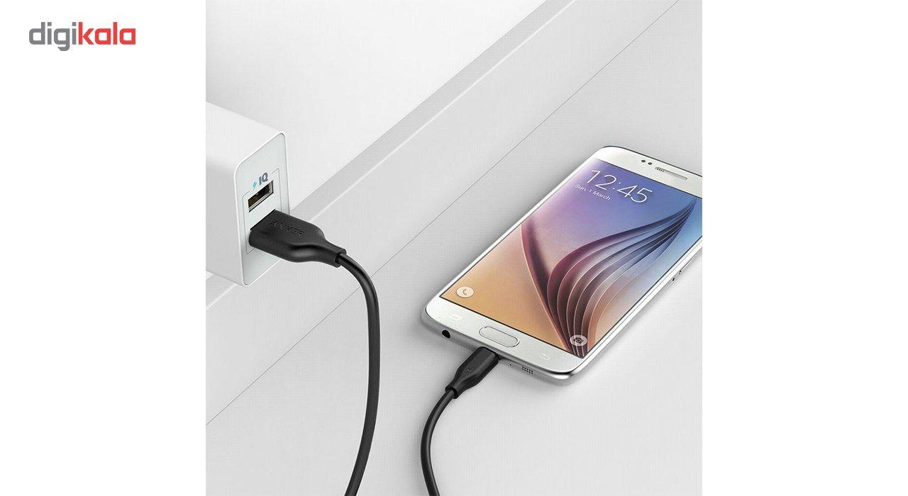 کابل تبدیل USB به microUSB انکر مدل A8133 PowerLine طول 1.8 متر main 1 10