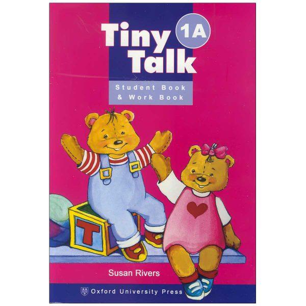 خرید                      کتاب tiny talk 1A اثر Susan Rivers انتشارات oxford university press