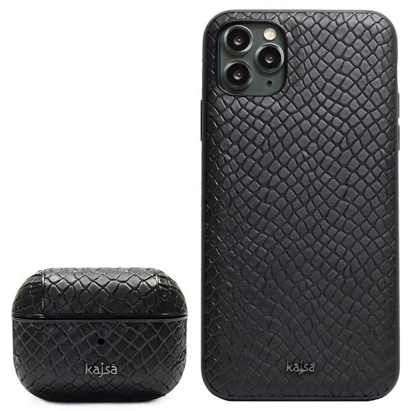 کاور کاجسا مدل Pearl مناسب برای گوشی موبایل اپل IPhone 11 Pro Max به همراه کیس اپل ایرپاد پرو