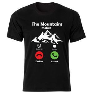 تیشرت آستین کوتاه ورزشی بچگانه طرح کوه کد BT179