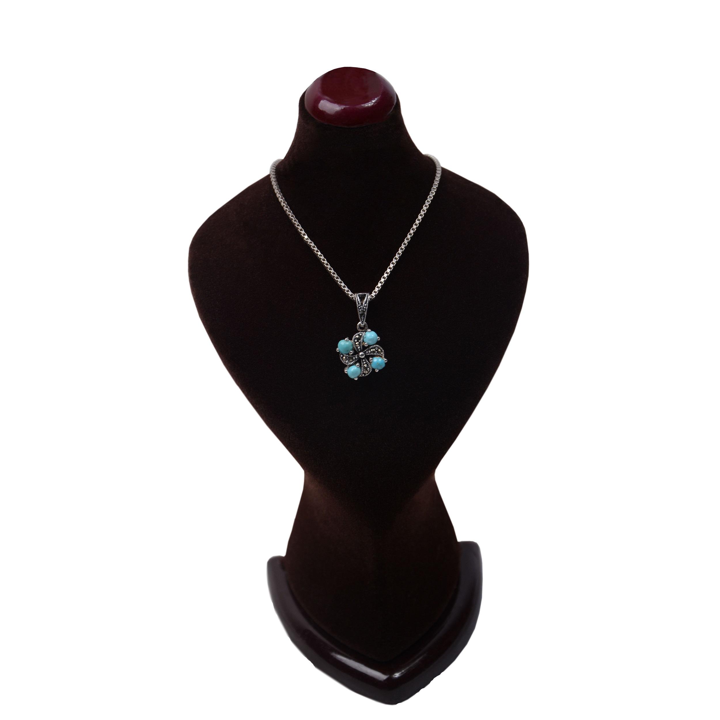 گردنبند نقره زنانه کد GZ110