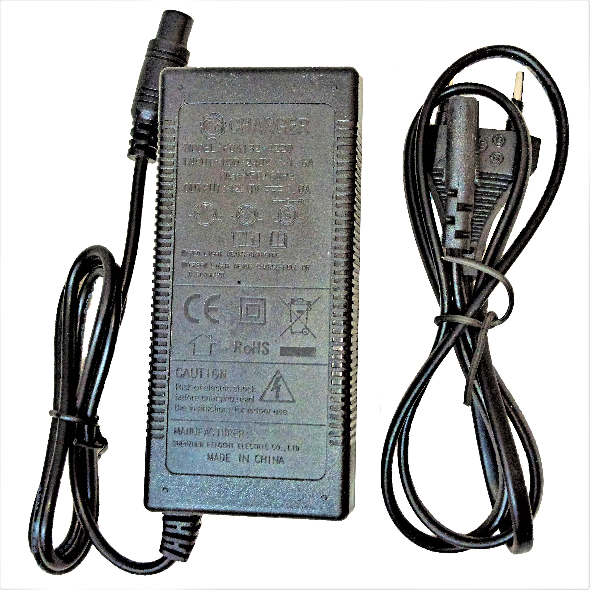شارژر اسکوتر برقی مدل FCA-132-4210-2A