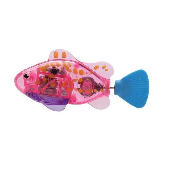 اسباب بازی گربه طرح ماهی رباتیک