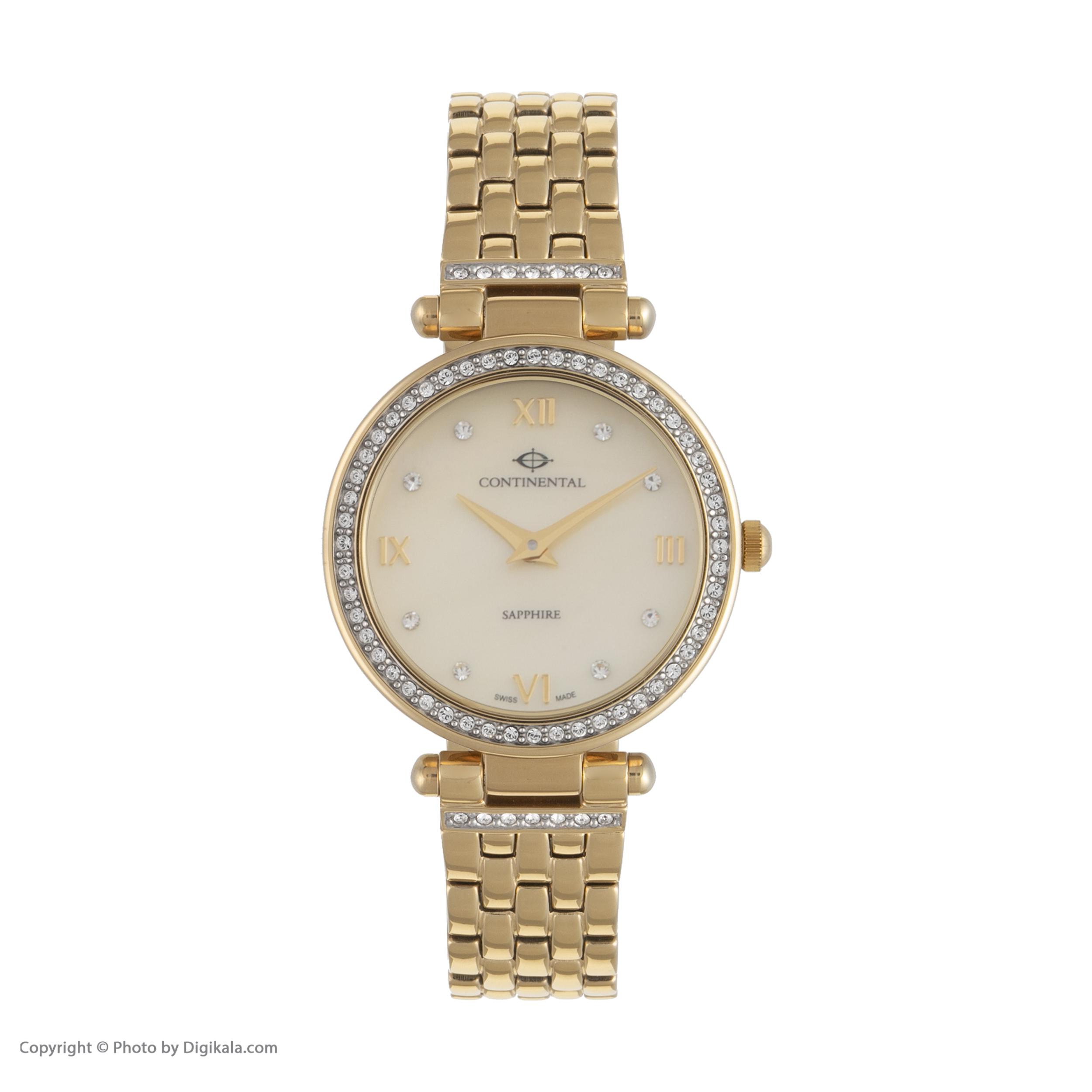 ساعت مچی عقربه ای زنانه کنتیننتال مدل 17004-LT202601 -  - 1
