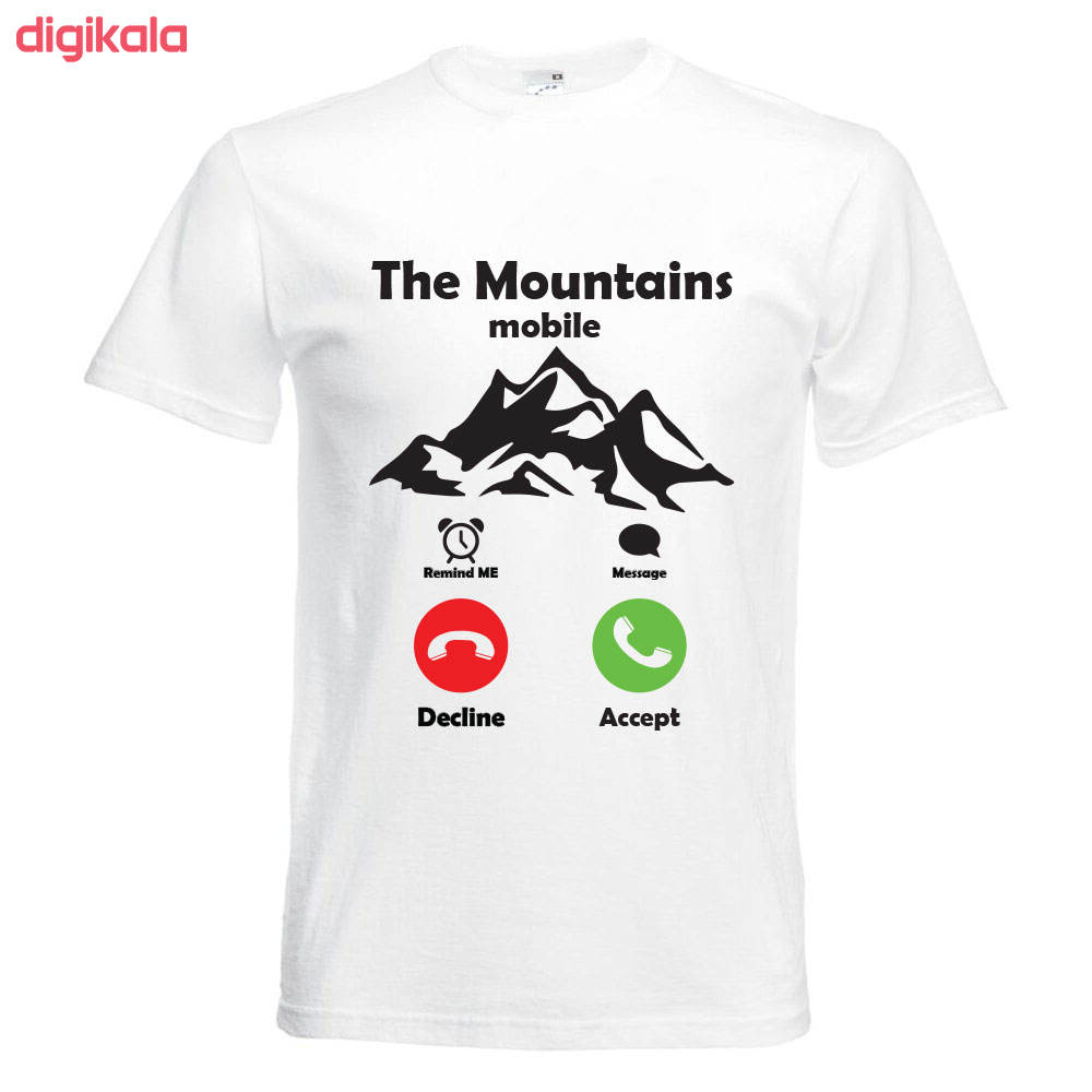 تیشرت آستین   کوتاه ورزشی بچگانه  طرح  کوه  کد   KT0293 main 1 1