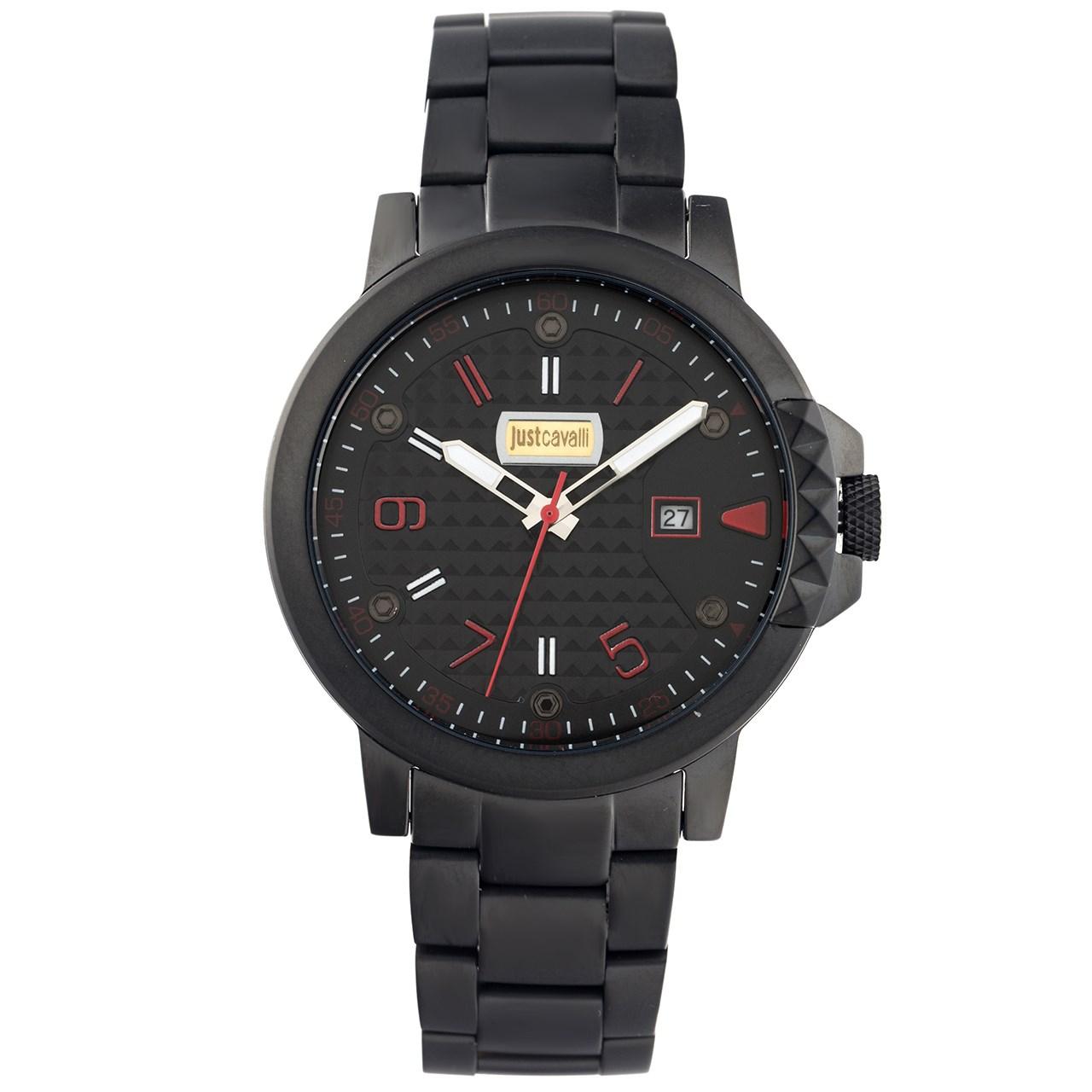 ساعت مچی عقربه ای مردانه جاست کاوالی مدل JC1G016M0095