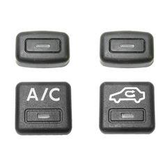 کلید تنظیم بخاری و کولر خودرو کد 2501 مجموعه 4 عددی
