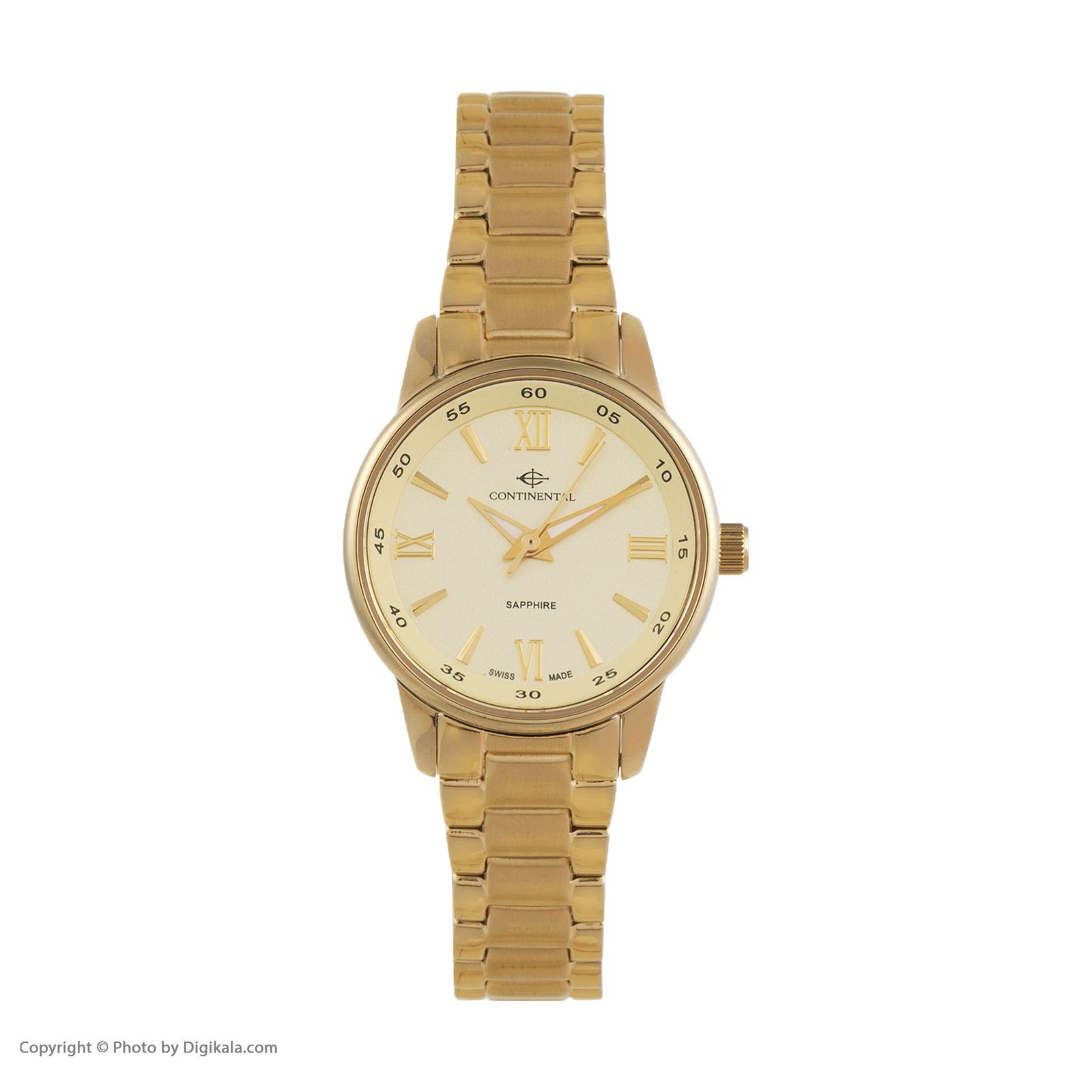 ساعت مچی عقربه ای زنانه کنتیننتال مدل 16204-lt202330 -  - 1