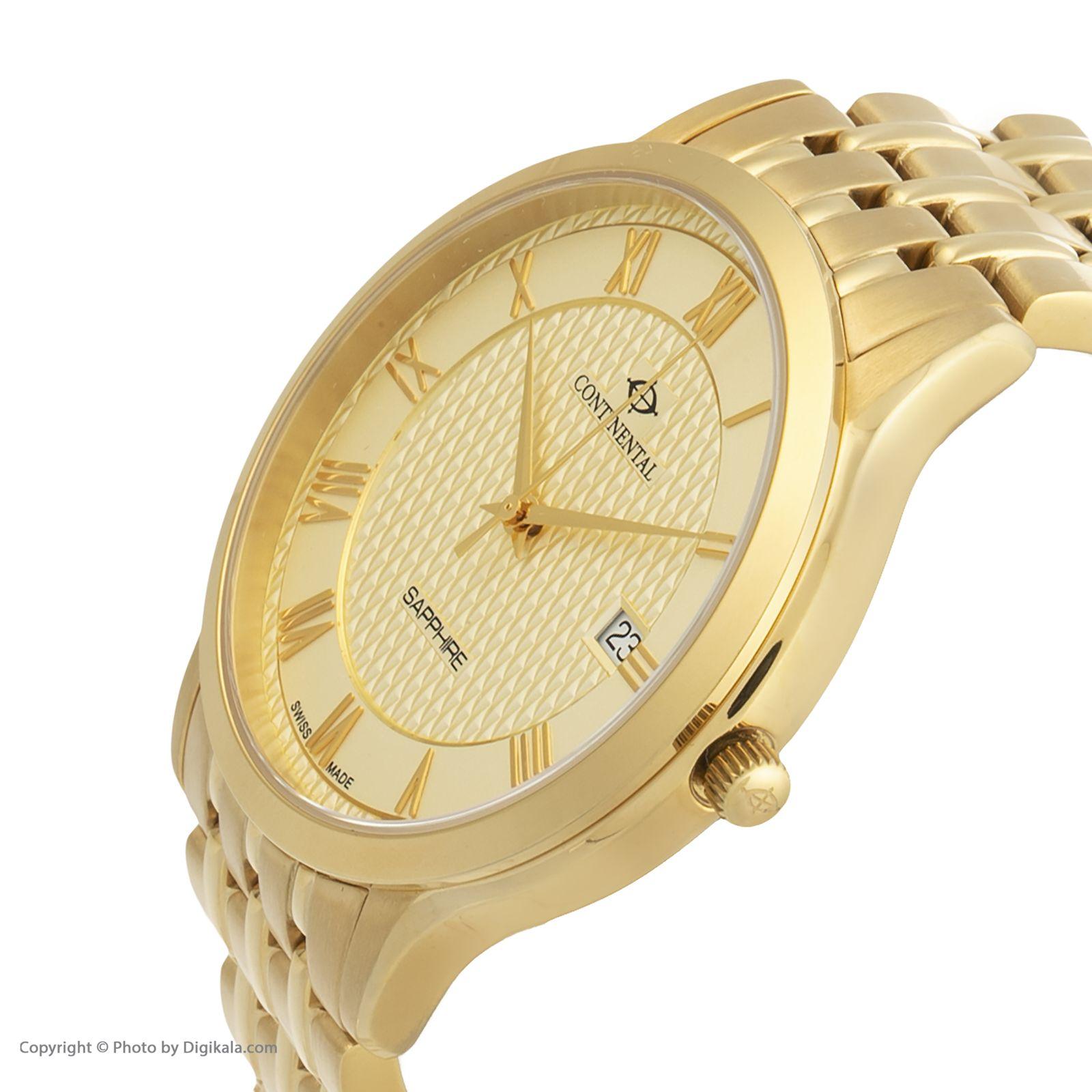 ساعت مچی عقربه ای مردانه کنتیننتال مدل 18351-GD202310 -  - 2