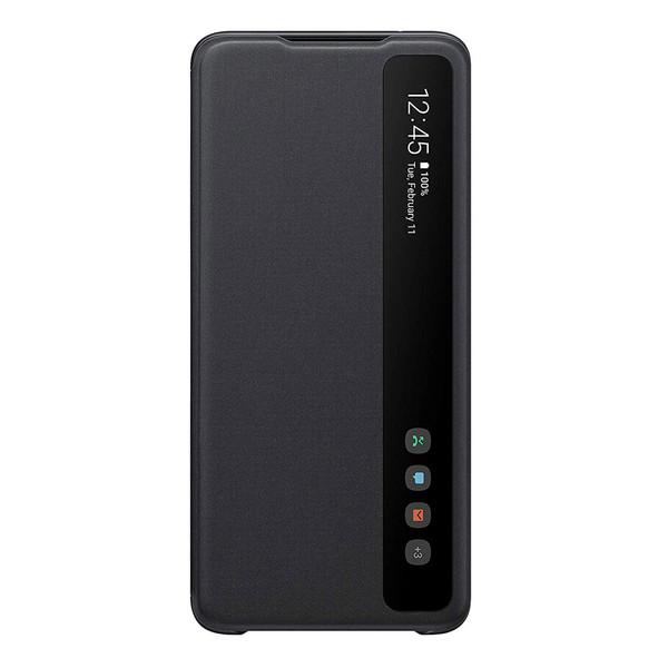 کیف کلاسوری سامسونگ مدل Clear View Standing مناسب برای گوشی موبایل سامسونگ Galaxy S20 Ultra