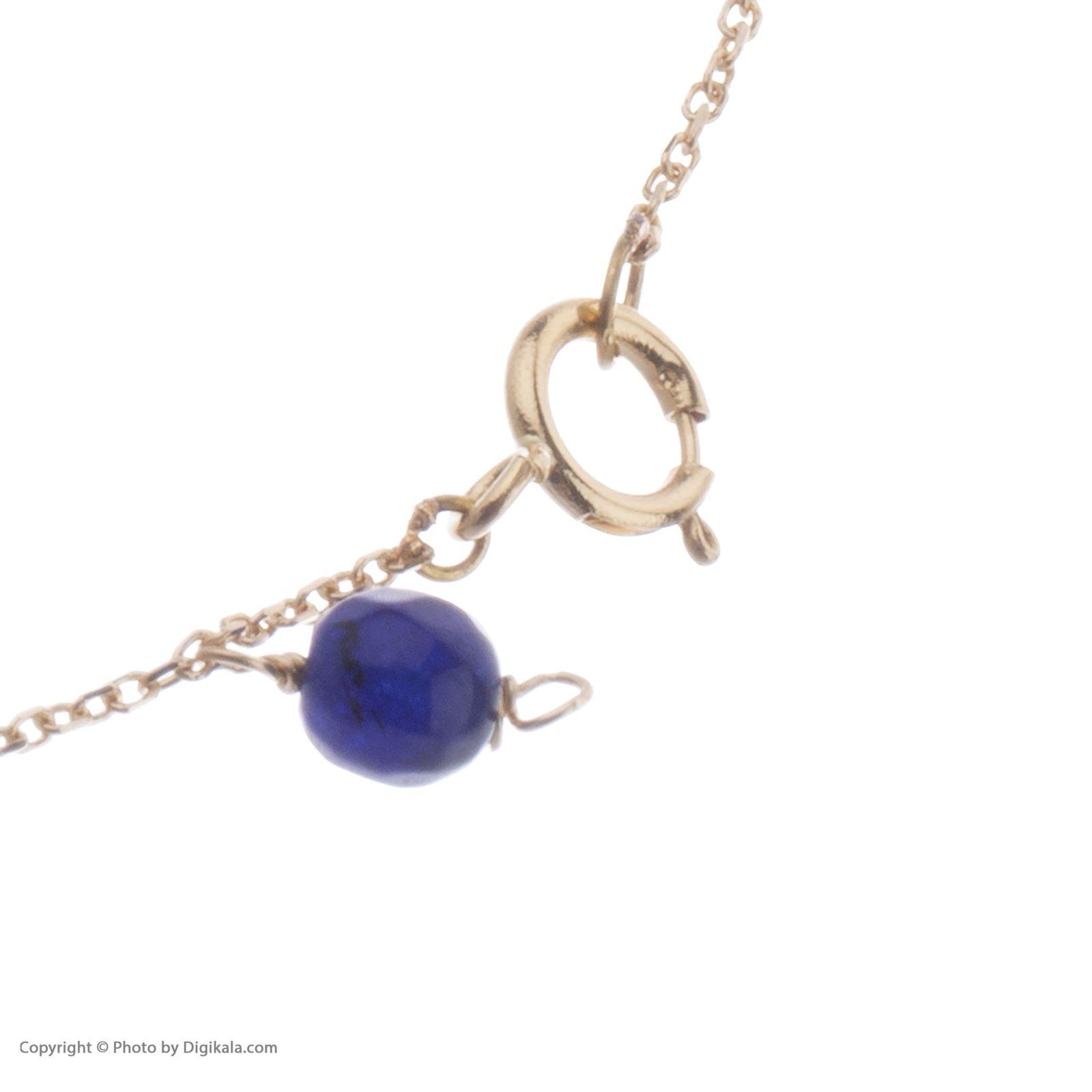 دستبند طلا 18 عیار زنانه نیوانی DA635  -  - 3