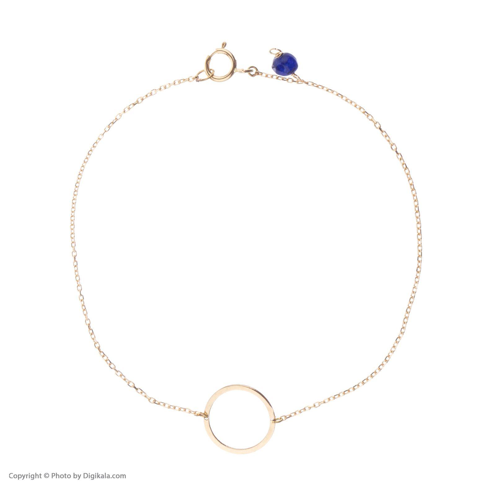 دستبند طلا 18 عیار زنانه نیوانی DA635  -  - 1