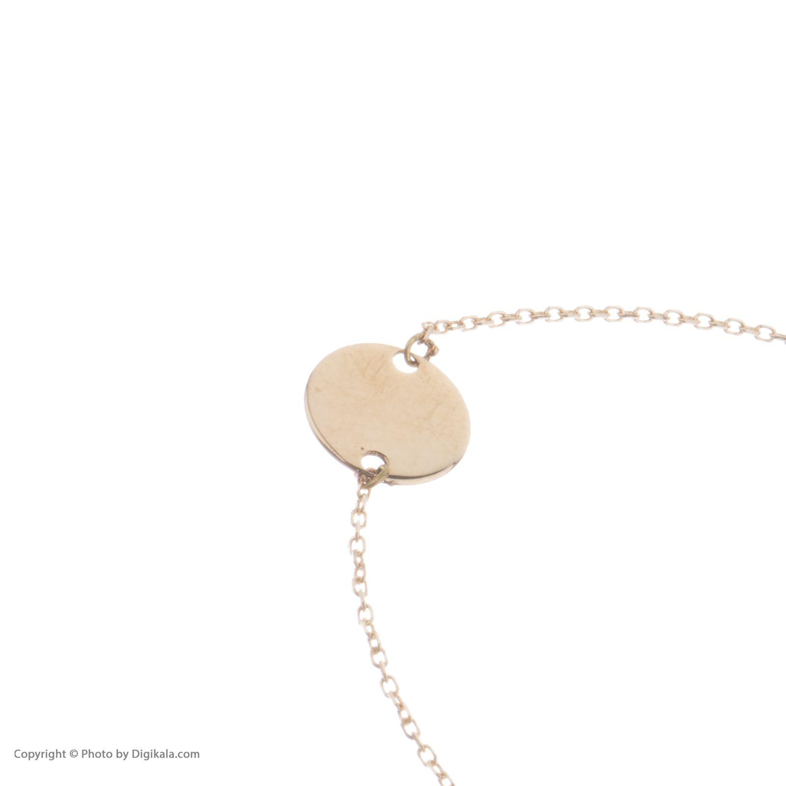 دستبند طلا 18 عیار زنانه نیوانی مدل DA628  -  - 2