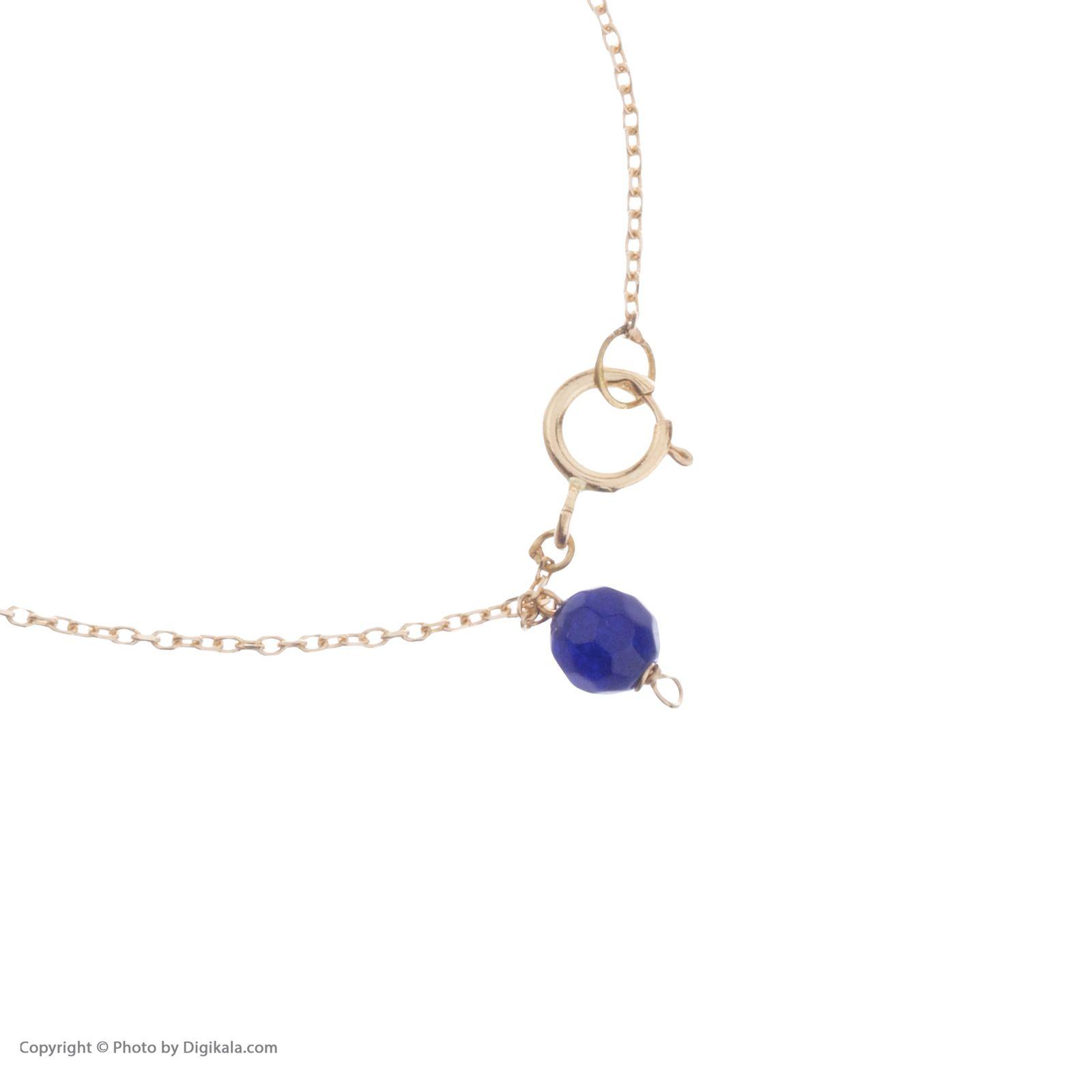 دستبند طلا 18 عیار زنانه نیوانی مدل DA634  -  - 2