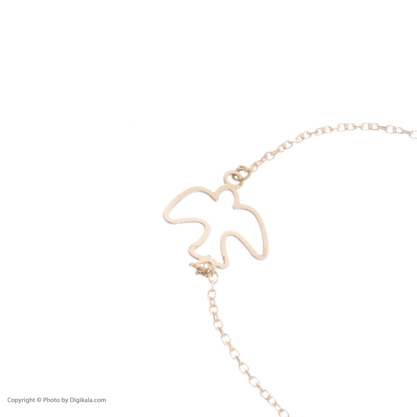 دستبند طلا 18 عیار زنانه نیوانی مدل DA634  -  - 3