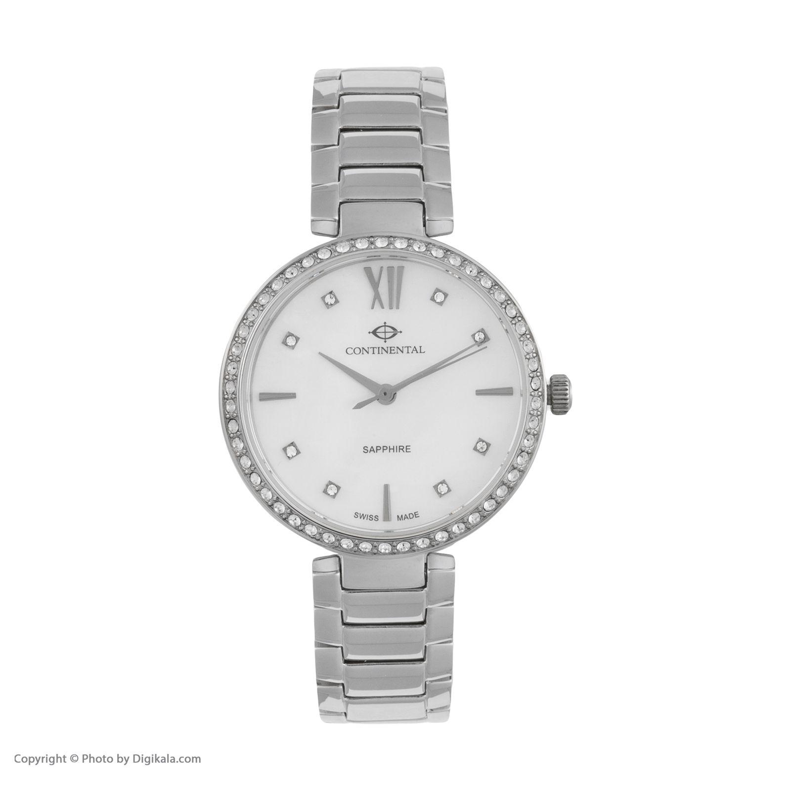 ساعت مچی عقربه ای زنانه کنتیننتال مدل 19601-LT101501 -  - 1
