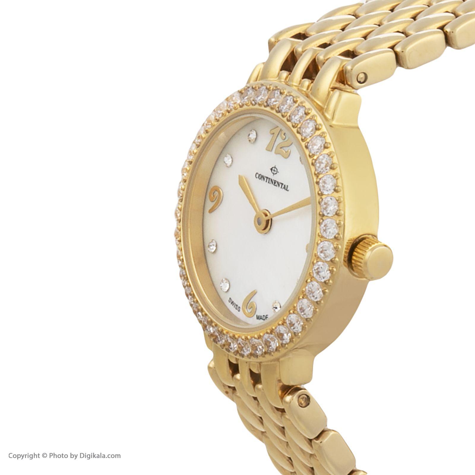 ساعت مچی عقربه ای زنانه کنتیننتال مدل 3004-LT202521 -  - 3