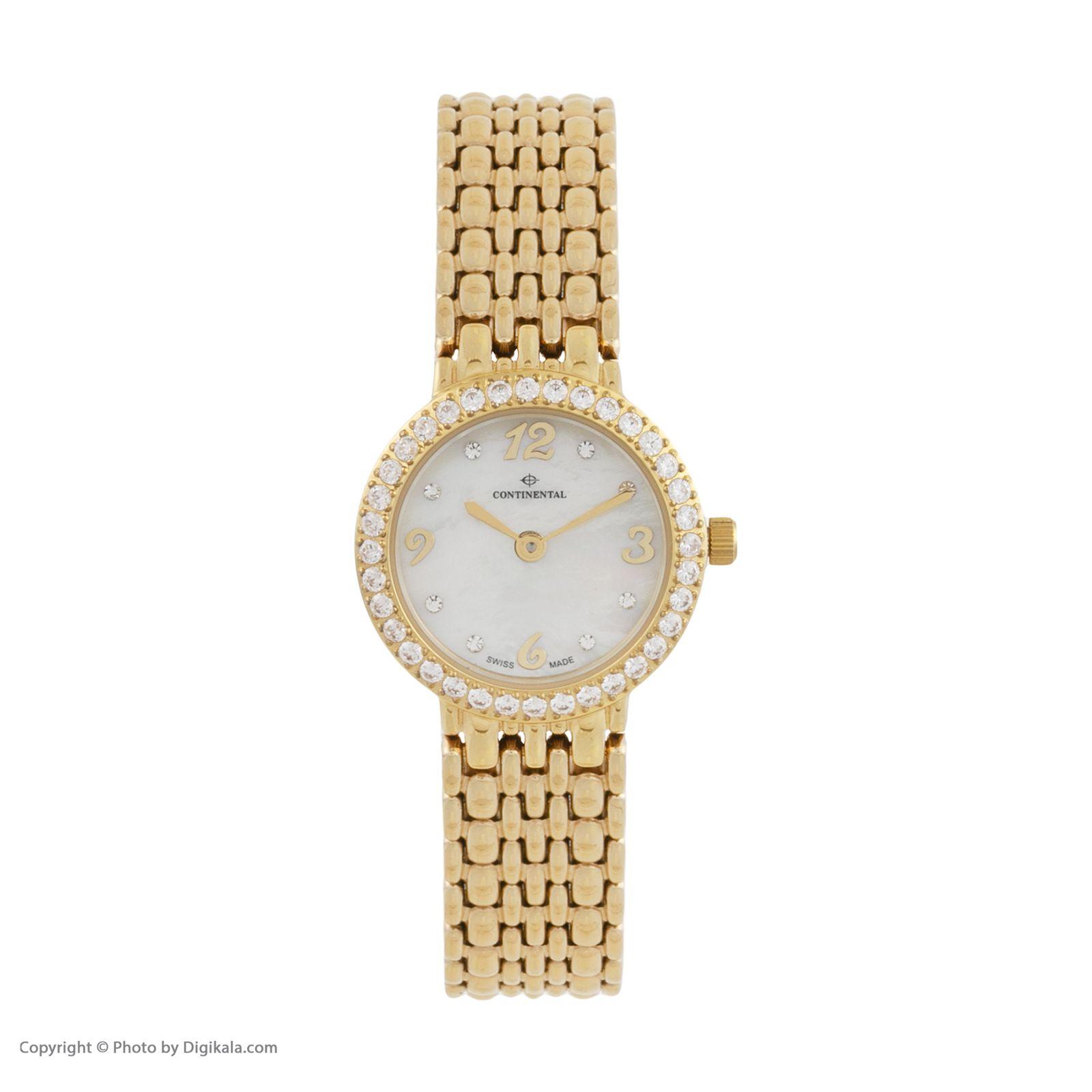 ساعت مچی عقربه ای زنانه کنتیننتال مدل 3004-LT202521 -  - 1