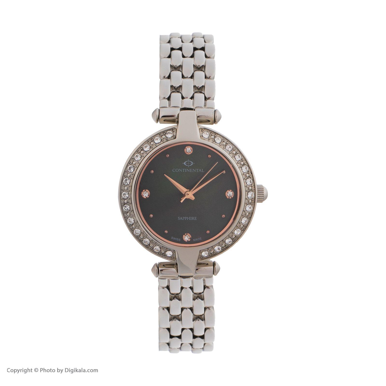 ساعت مچی عقربه ای زنانه کنتیننتال مدل 17001-LT101571 -  - 1