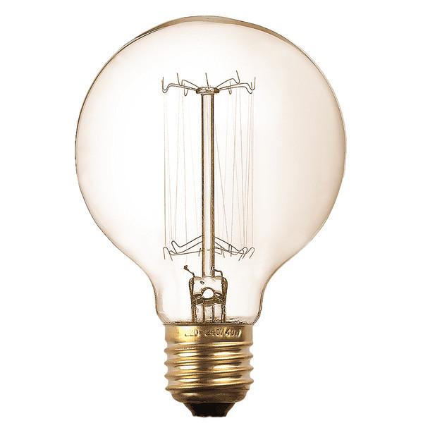 لامپ ادیسونی 60 وات زد اف ار مدل G125 پایه E27