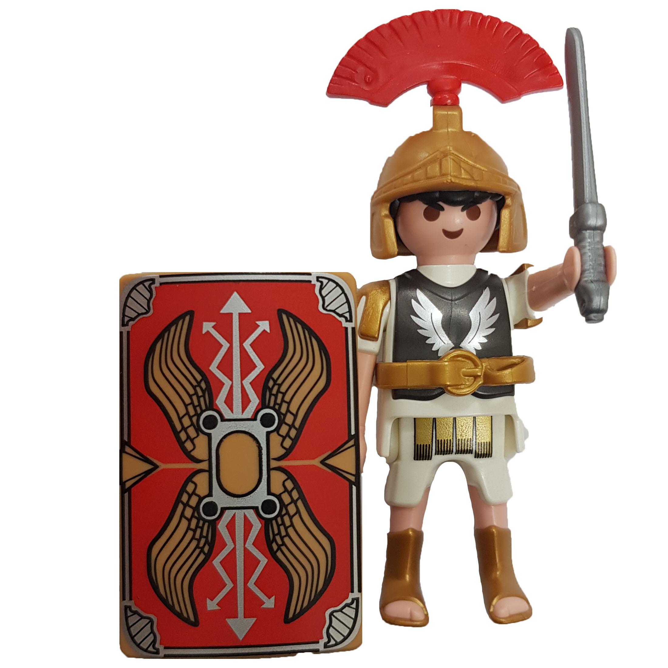 ساختنی پلی موبیل مدل شوالیه شمشیر زن